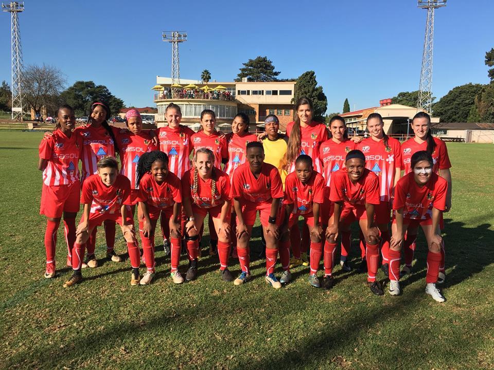 Luso Africa ladies soccer team